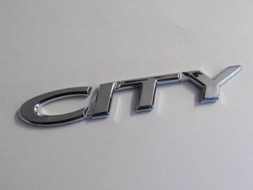 Emblem-City-Chrome