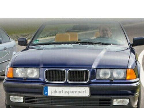 Grill BMW E36 Non Facelift Tahun 1991-1996 Warna Hitam Pinggiran Chrome