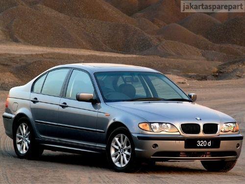 Grill BMW E46 Facelift Tahun 2002-2004 Warna Matte Black