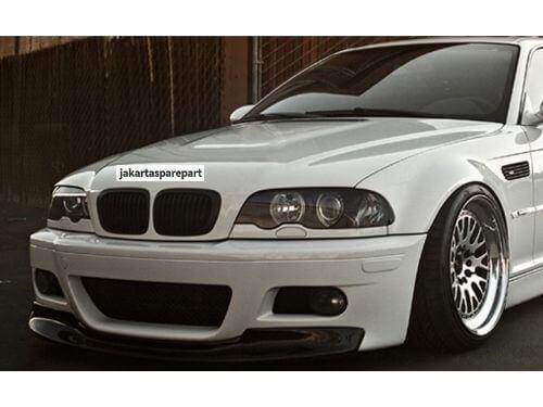 Grill BMW E46 Non Facelift Tahun 1998-2001 Warna Matte Black Model 2Dr (Coupe)