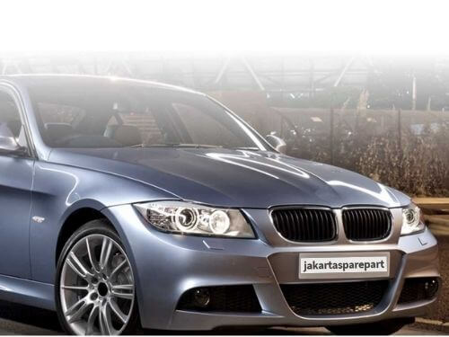 Grill BMW E90 LCI Tahun 2009-2011 Warna Matte Black Model Single Slats