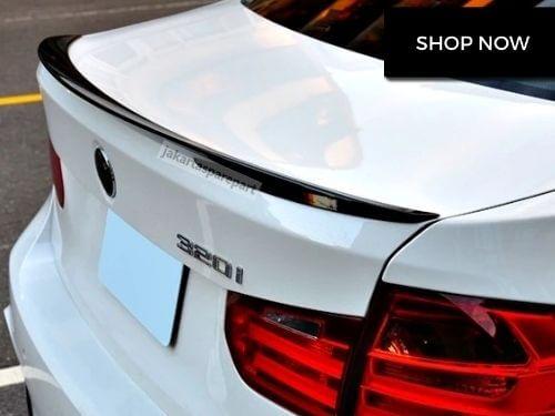 Spoiler BMW F30 Tahun 2012-ON Bahan ABS Model M Performance Style