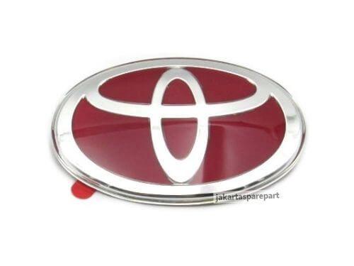 Emblem-Red-Toyota-Ukuran-10x7cm