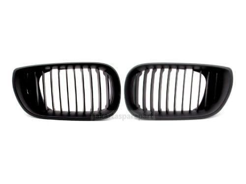 Grill-BMW-E46-Facelift-02-04-Matte-Black