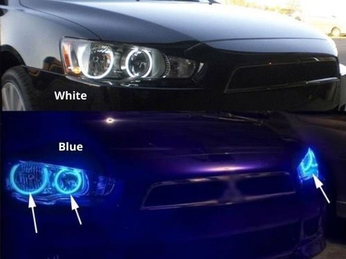 Angel Eyes Multi Colour Mitsubishi Lancer X