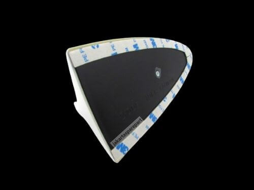 Antena Sirip Hiu Kecil Warna Putih Ukuran 18x8.7cm