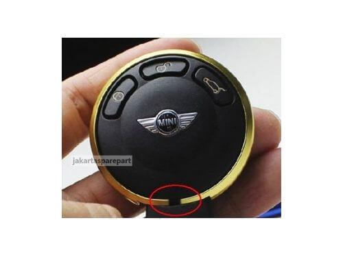 Contoh-Terpasang-Aluminium-Key-Rim-Warna-Gold-Mini-Cooper-2007-2013