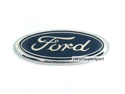 Emblem Logo Ford Ecosport Warna Biru Ukuran 11.5x4.4cm