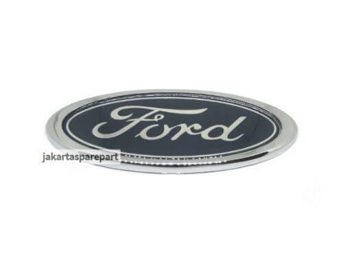 Emblem Logo Ford Warna Biru Ukuran 15x6cm
