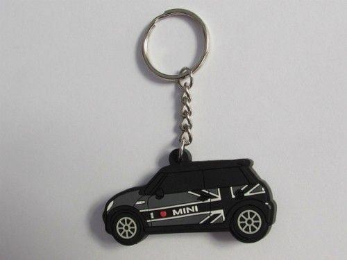 jual-LED-Gantungan-Kunci-Mini-Cooper-GraY-Car-Black-Flag