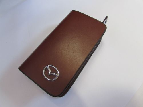 Dompet Kunci STNK Mazda Warna Coklat Tua
