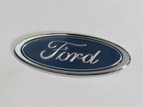Emblem Logo Ford Warna Biru Ukuran 12x5cm