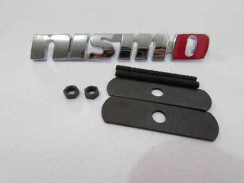 Emblem-Grill-Nismo-Chrome-O.Merah