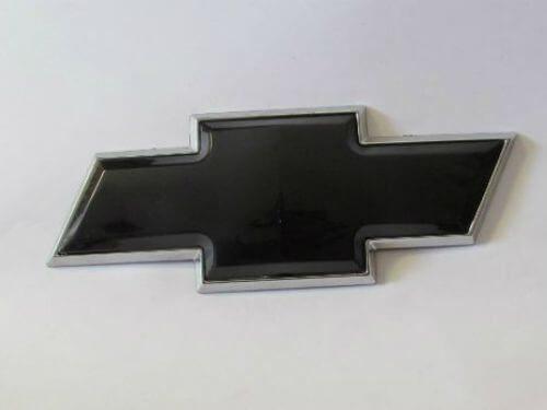 Emblem Logo Chevrolet Warna Hitam Ukuran 20.5x7.8cm