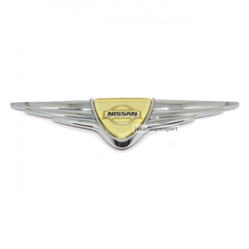 Emblem NISSAN Wing Ukuran 17.5x4.3cm