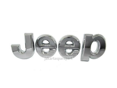Emblem-Tulisan-Jeep-Warna-Chrome-Ukuran-15x4cm