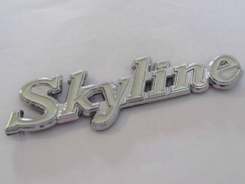 Emblem-Tulisan-Skyline-Warna-Putih-Ukuran-16.2x3.6cm