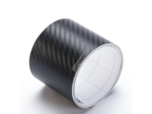 Vinyl Carbon Fiber Matte Black 3M