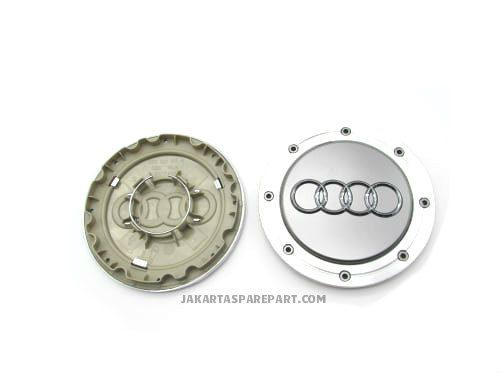 Dop Velg Audi C5 A6 Ukuran 15cm Warna Silver