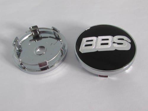 Jual-Emblem-velg-BBS-hitam-putih-60mm-