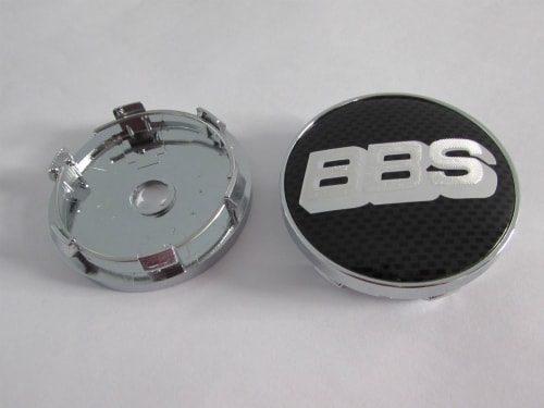 Jual-Emblem-velg-bbs-hitam-carbon-putih-60mm-