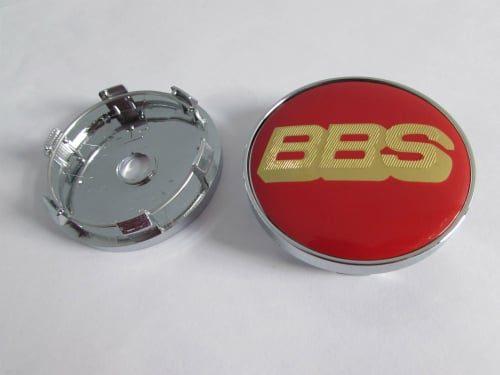 Jual-Emblem-velg-bbs-red-gold-60mm-