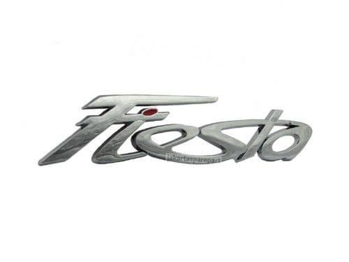 Emblem Tulisan Fiesta Warna Chrome Untuk Ford