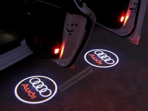 3D Door LED Audi A4 Tahun 2003-2008 Nyala Merah