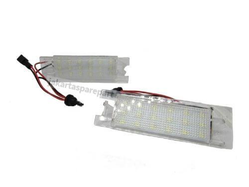 Lampu LED Plat Nomor Opel Zafira B (05-11), Astra H (04-09), Corsa D (06-11), Insignia (08-ON), Hyundai Ix35 (10-ON)