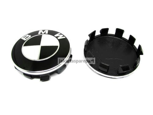 Dop-Velg-BMW-Warna-Hitam-Putih-Ukuran-56mm