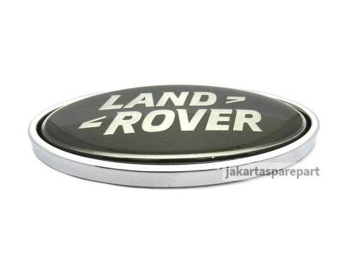 Emblem Logo Land Rover Warna Hijau Ukuran 9x4.5cm