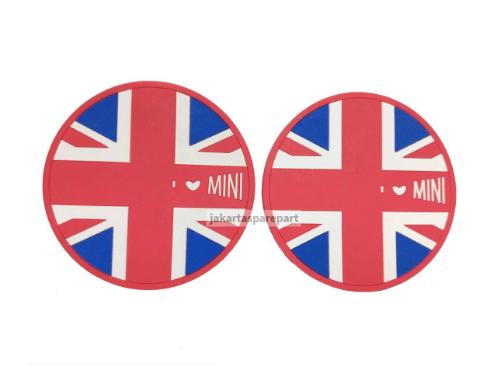 Alas Gelas Red Jack Union Ukuran 72mm For Mini Cooper