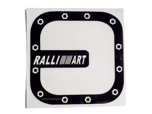 Sticker-Ralliart-Kotak-Hitam-Ukuran-11.5x11.5cm-For-Mitsubishi