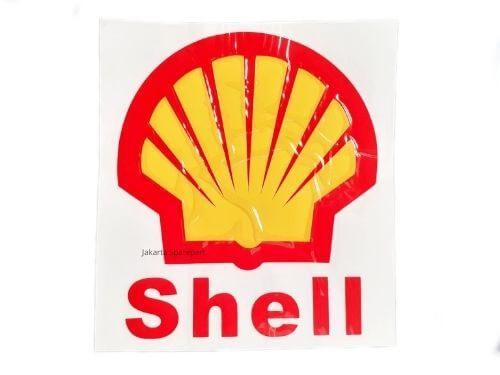 Sticker-Shell-Warna-Kuning-Merah