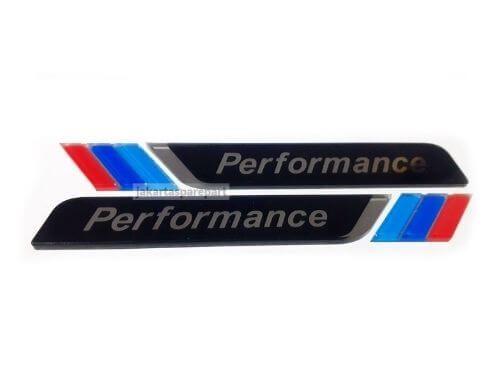 Emblem-3D-Sticker-M-Performance-Bahan-Acrylic-Warna-Hitam-For-BMW.